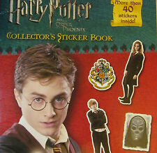 Rare*Original*Harry Potter+Order Of The Phoenix Collector Sticker Book from 2007
