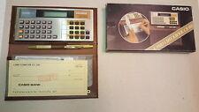 CASIO CHECKBOOK CB-100 ELETRONIC CALCULATOR COMPUTER