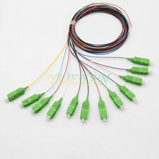 1.5M 12 fiber SC/APC 9/125 Single-mode Fiber Optical Pigtail Cable PVC