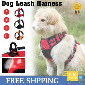 No-pull Dog Harness W/ Padded Handle Outdoor Adventure Walk Training Pet Vest UK