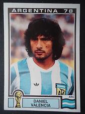 Panini 103 Daniel Valencia Argentina WM 78 World Cup Story