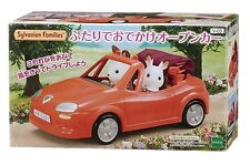 Sylvanian Families ❤ Family Open Cart Red from Japan (Calico Critters)