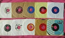 Nice lot of 50 Rock Pop R&B oldies 45 rpm's from the 50's and early 60's