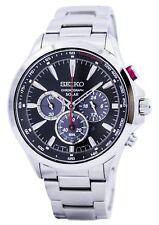 Seiko Solar Chronograph Tachymeter SSC493 SSC493P1 SSC493P Men's Watch