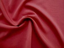 Pretty Subdued CORAL or Reddish Pink Poly Silk-Like PONGEE or Lining Fabric
