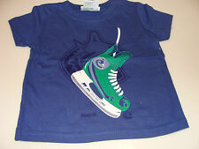2012-13 Vancouver Canucks Shoulder Blades T Shirt Infant 2T Kids NHL Hockey