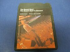 The Beach Boys, 8 Track Tape, Tested,The Beach Boys Concert Double Play=2 Albums