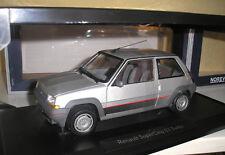 Renault 5 r5 gt turbo SUPERCINQ Argent 1985 en 1:18 de NOREV