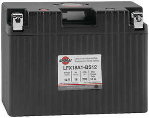 Shorai Lithium Iron Extreme-Rate Battery LFX18A1-BS12