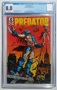 Predator #1 (Dark Horse Comics 1989) CGC 8.0 VF 1st Appearance In Comics