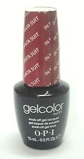 Opi In My Santa Suit Gel Gelcolor Nail Polish Lacquer New Mariah Carey Holiday