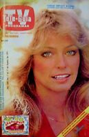 TV Guide 1977 Charlie's Angels Farrah Fawcett Majors International EX/NM COA