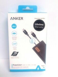 Anker PowerLine+ USB-C to USB-C 2.0 Cable High Durability for USB Type-C Devices