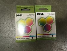 T0530-GENUINE Dell #1  Standard Color Ink Cartridge for use in: 720/A920,2/PK
