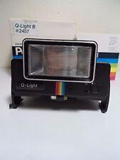 Flash Q LIGHT pour Polaroid 1000 2000 3000 Neuf!! Boîte d'origine! Notice Testé