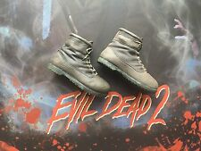 Sideshow Collectibles Evil Dead 2 Ash Brown Boots loose 1/6th scale