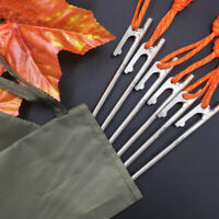 Outdoor Tent Peg 20cm High Strength Titanium Tent Nail Stake Tent Accesso gt