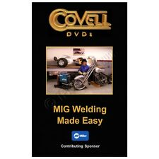 Ron Covell MIG Welding Made Easy Instructional DVD Video