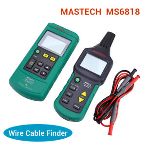 MASTECH Wire Tracker Cable Locator Detector Tester Meter MS6818 12V-400V AC/DC