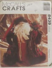 """McCall's Crafts 8439 Father Christmas Doll 15"""""""