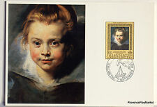 LIECHTENSTEIN   Carte Postale Maximum N° 57 RUBENS CLARA SERENA LIE01