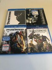 Hasbro Transformers Series Blueray DVD Collection Movies 1-4 Slip Covers