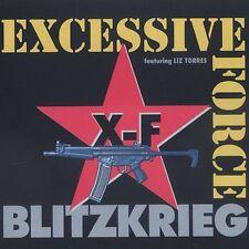 Blitzkrieg Excessive Force 3 track cd NEW (cutout) Sascha Konietzko of KMFDM