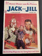 1960 Jack & Jill Magazine (January ) Howdy Doody Space Explorer Buffalo Bob