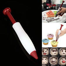 Silicone Pen Make Cake Cookie Pastry Cream Chocolate Icing Decorate Syringe Gift