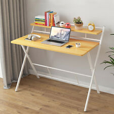 Folding Study Desk Home Office Desk Simple Laptop Writing Table Workstation New