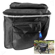 1x MTB Fahrrad Doppeltasche Neu Seiten Satteltasche Packtasche Gepäckträger