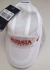 Nike DRI - FIT Adult Unisex Russia Track & Field Mesh Cap Hat 713742 100