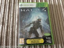 MICOROSOFT XBOX 360 HALO 4 GAME BRAND NEW & SEALED ITALIAN