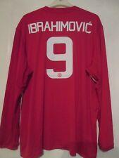 Manchester United 2016-17 EPL Home Ibrahimovic 9 Football Shirt 3xl BNWT /43387