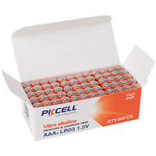 PKCELL 60-Pack AAA Ultra Alkaline Battery