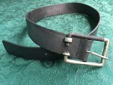 """DOMENICUS """"Leon"""" Belt Size 30 Made In Mexico Nut & Bolt Buckle Cool Buckle GC"""