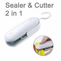 Portable Mini Heat Sealer Household Handheld Sealing Machine Plastic Snack Bag
