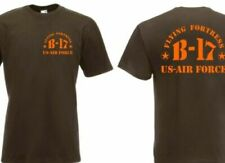 T-Shirt B17 Memphis Belle Flying Fortress US Army Airforce Pilots Usmc #2 S-XXL