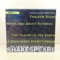 SHAKESPEARE THE ESSENTIAL COMEDIES VOL 1 FOUR BBC FULL-CAST RADIO DRAMAS NEW