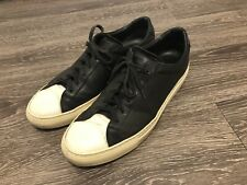 Common Projects Achilles Low Retro Cap Toe Black Shoe Mens Size 42 Made In Italy