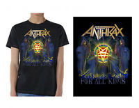 ANTHRAX - For All Kings - T SHIRT S-M-L-XL-2XL Brand New Official T Shirt