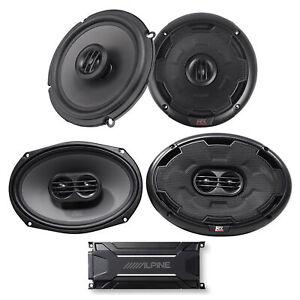 """ALPINE KTA-30FW 600 Watt 4-Channel Amplifier Amp+MTX Thunder 6.5""""+6x9"""" Speakers"""