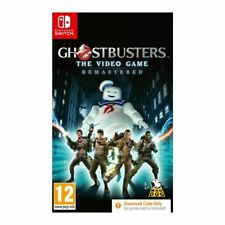 Ghostbusters Videogame Remastered Nintendo Switch Game Code in a Box GIFT IDEA