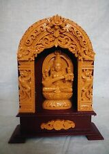 Hindu Goddess Saraswati Marble Statue Sarasvati Devi Sculpture Figurine New Gift