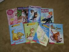 Lot of 8 Children's Animal Books - Little Animal Ark, Kitty Corner, Puppy Power