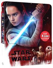 STAR WARS - Gli Ultimi Jedi STEELBOOK EDITION (BLU-RAY 3D + 2D) PRENOT.