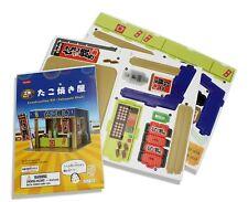 Japanese Card Construction Kit Puzzles - Takoyaki Stall