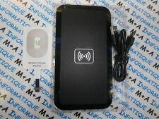 wireless + chargeur par induction normes qi d'iphone 5 à 7 plus blanc ou noir