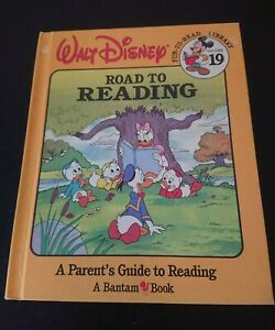 Walt Disney Road to Reading~Fun to Read Library Volume 19 1986 ~Hardcover Book