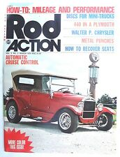 Vintage ROD ACTION March 1974 Magazine - 440 In A Plymouth MINI TRUCKS 74 Pages